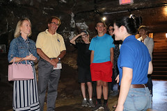Rep. Zawistowski hosted a tour for legislators to learn more about the recently re-opened Old Newgate Prison & Copper Mine