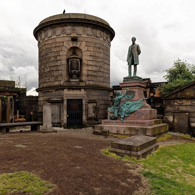 Edinburgh / Old Calton Cemetery / Grave of David Hume