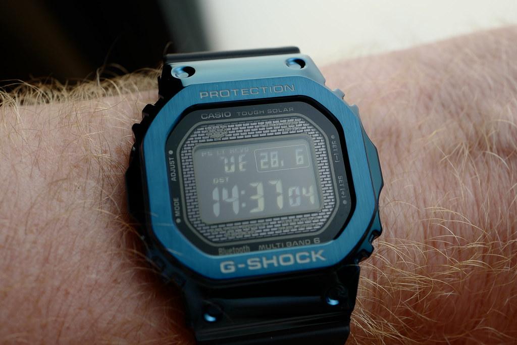 Mini revue / Packshot G-SHOCK GMW-B5000G-2ER 48143465311_daf3ea85ce_b