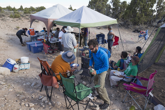 Camp, Bighorn Canyon National Recreation Area, Big Horn County, Wyoming 2