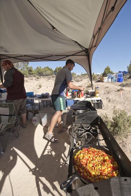 Matt Toro, camp, Bighorn Canyon National Recreation Area, Big Horn County, Wyoming