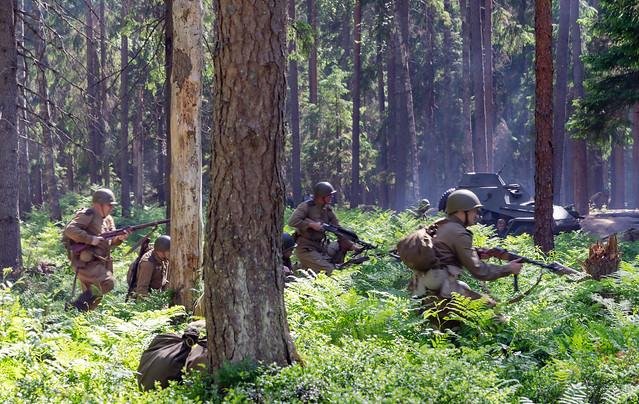 Karelian Offensive in Kuuterselkä