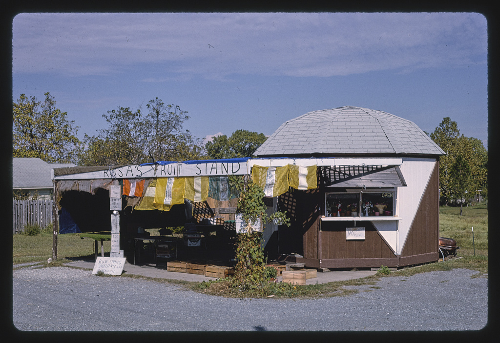 Rosa's Fruit Stand, Route 49, Lawton, Oklahoma (LOC)