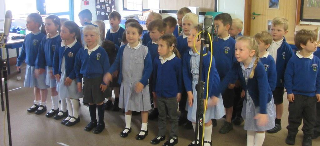 Recording the School CD