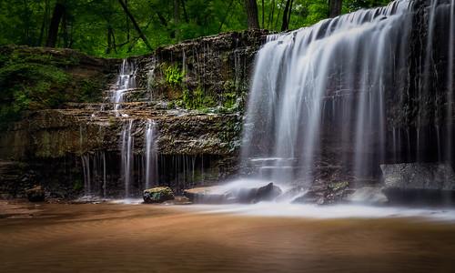 sonyalpha sonya7rm2 ilce7rm2 mirrorless river creek water rocks waterfall longexposure woods trees leaves sand tamron2875 lpmg1792