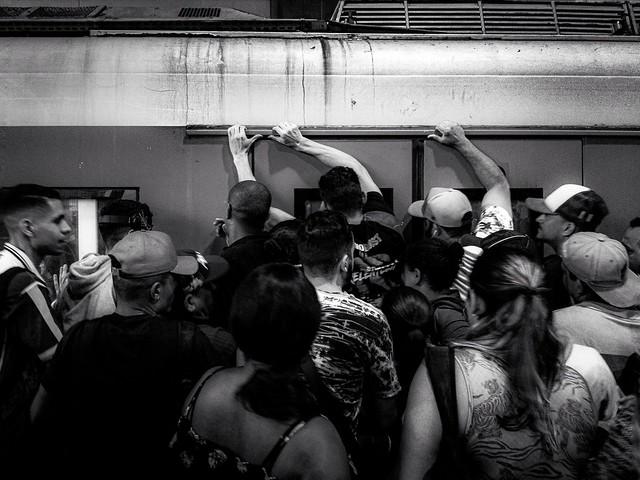 Rush Hour - Train in Brazil