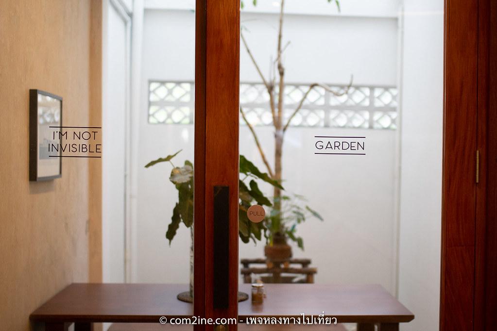 สวนหลังร้าน SINGLE LANE Specialty Coffee