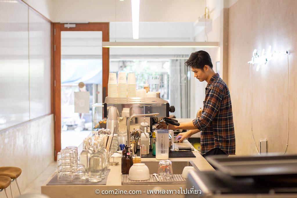 บาริสต้าโอ SINGLE LANE Specialty Coffee