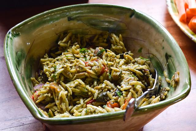 Wasted Kitchen Orzo Salad at Macknade Fine Foods, Faversham