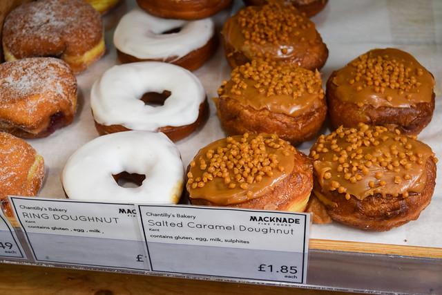 Doughnuts at Macknade Fine Foods, Faversham