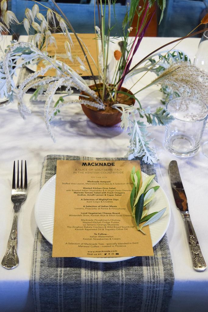 Kentish Italian Luncheon at Macknade Fine Foods, Faversham