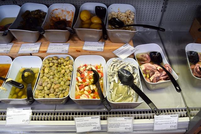 Deli Counter at Macknade Fine Foods, Faversham