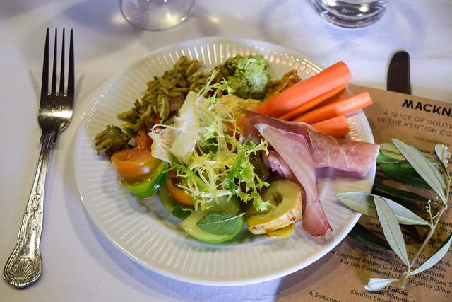Italian Luncheon at Macknade Fine Foods, Faversham