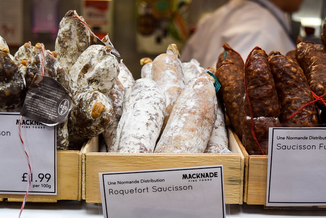French Saussison at Macknade Fine Foods, Faversham