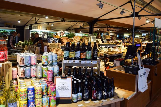 Food Hall at Macknade Fine Foods, Faversham