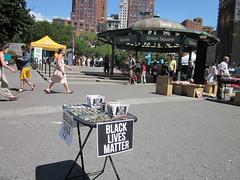 union square park nyc. #blacklivesmatter