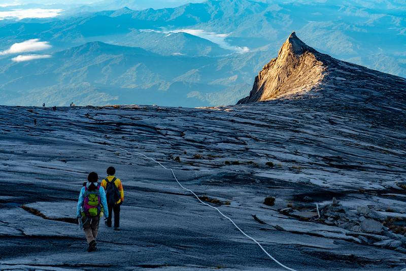 キナバル山のサウスピーク