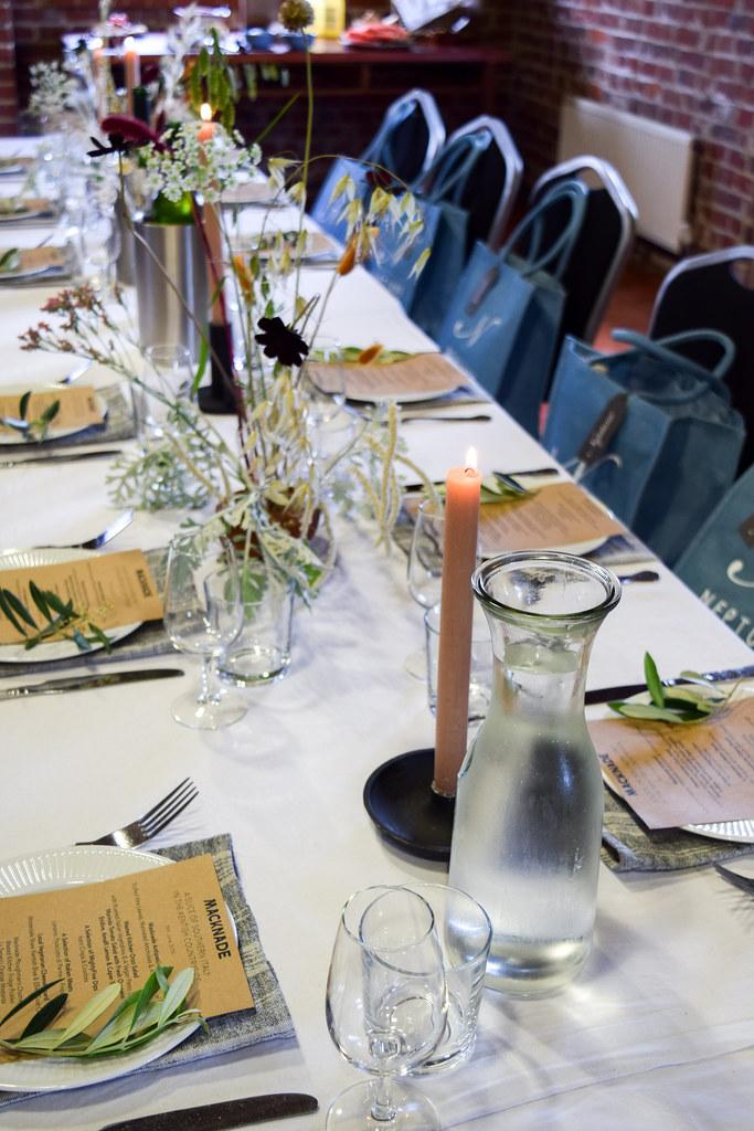 40th Birthday Lunch at Macknade Fine Foods, Faversham