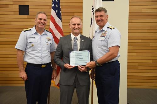 Coast Guard Civilian Employee of the Year award 2018