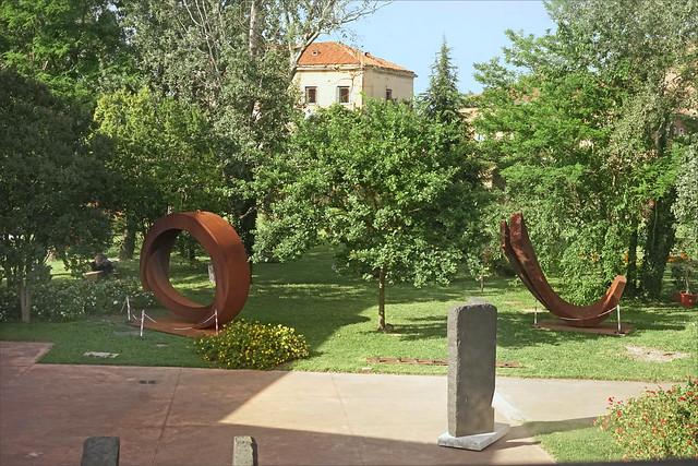 Le jardin de sculptures de l'Espace Thetis (Arsenal de Venise)