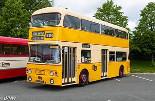 Preserved ex-TWPTE 680 GBB516K: 1972 Leyland Atlantean