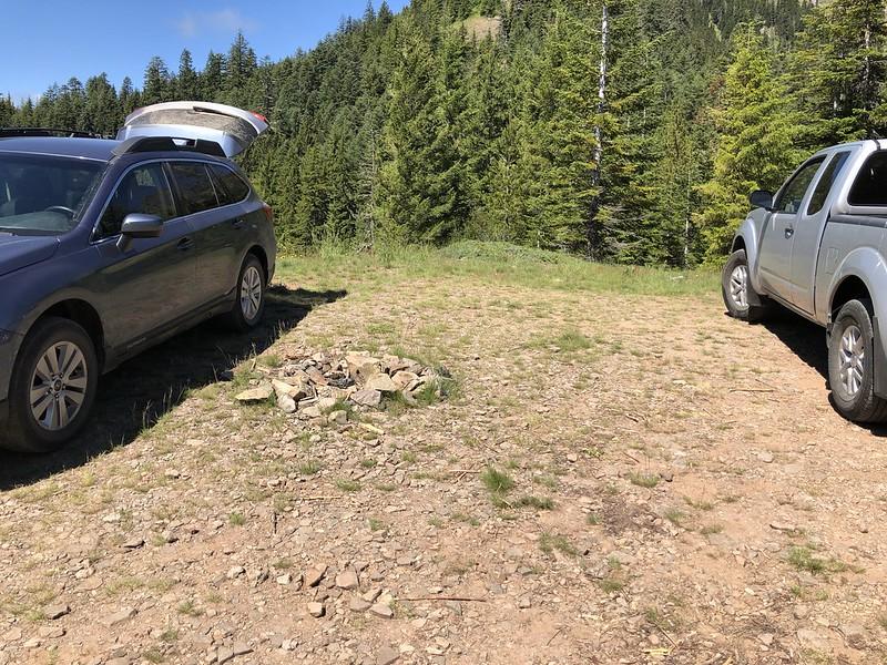 Bachelor Mountain Trailhead