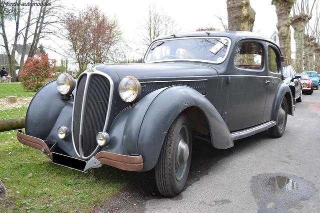 Delahaye 134N Berline Autobineau