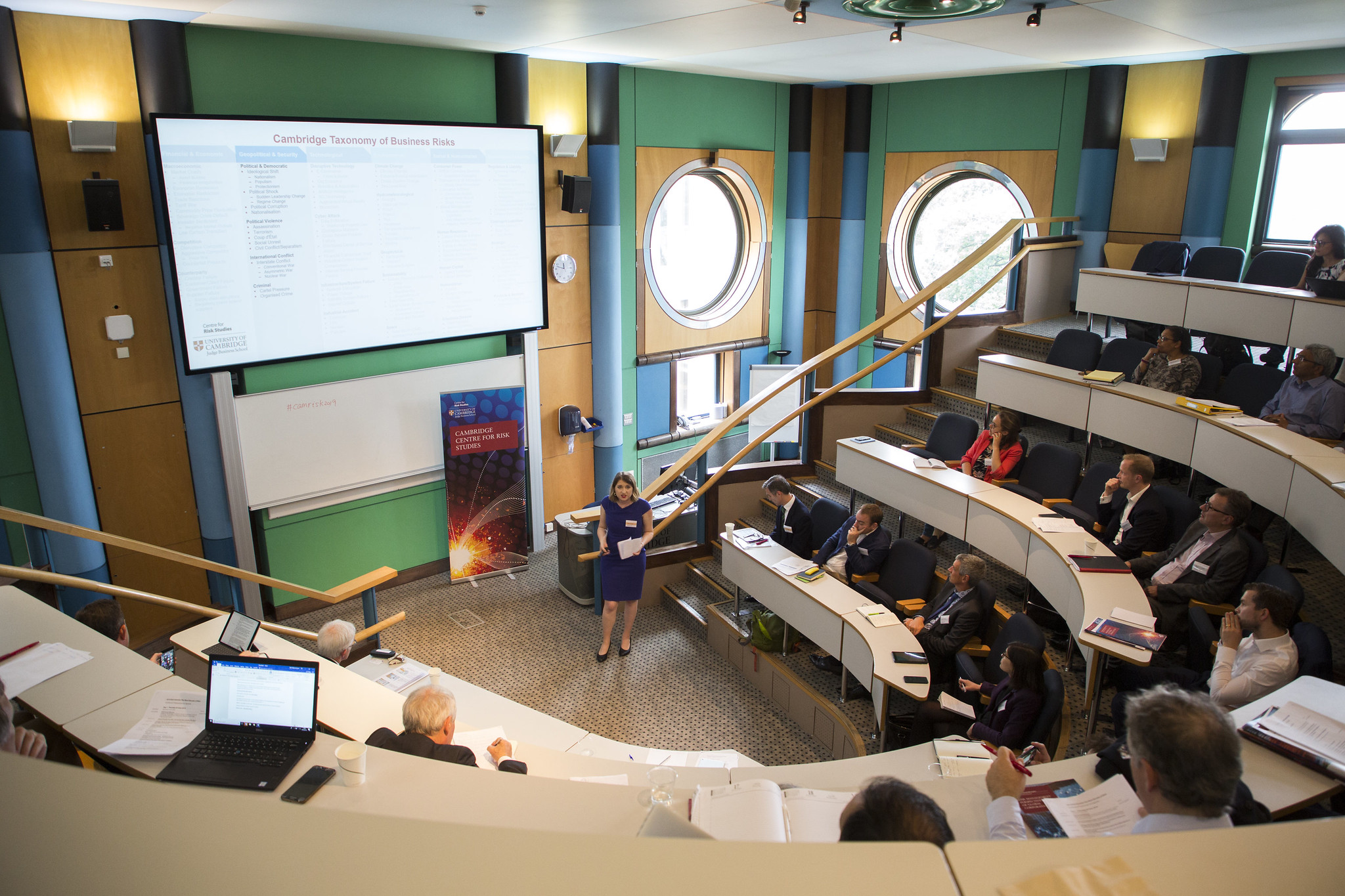Judge Business School Cambridge Risk Summit 2019