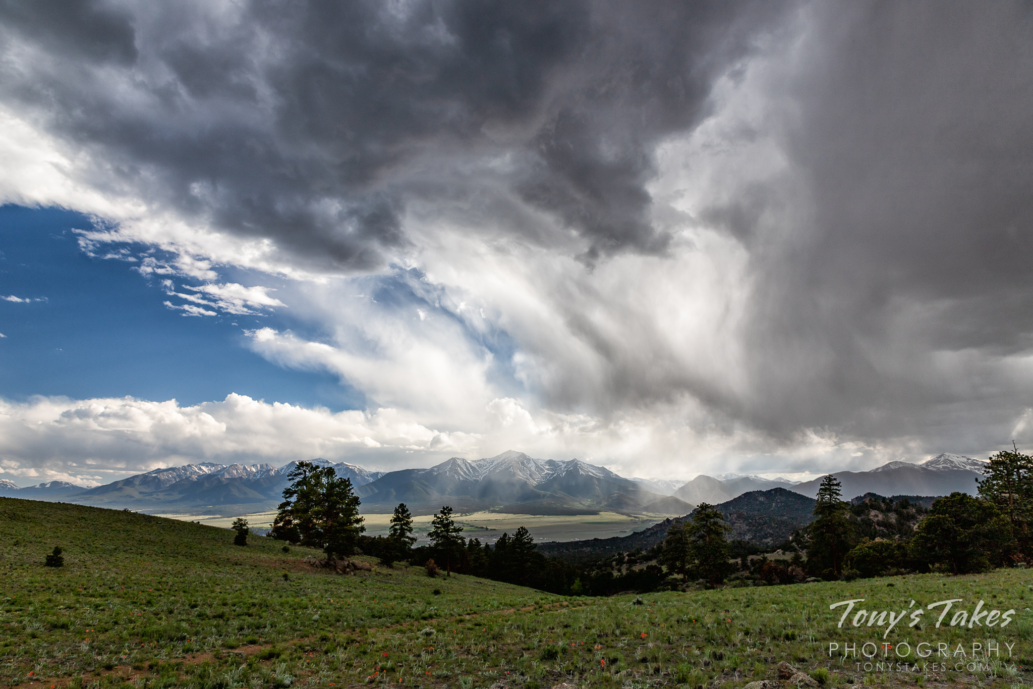 Storms over the Collegiate Peaks