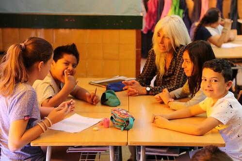 Ràdio, contes i Drets Humans a l'Escola Gras i Soler