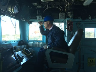 On the Bridge, In the Captains Chair (USS Anteitem)