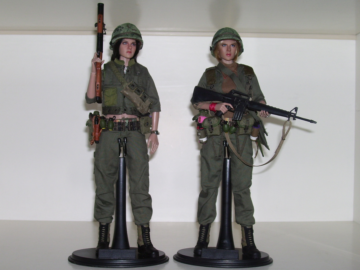 "NEW PRODUCT: ACE: Playgirl Series 13034 U.S. Vietnam War ""Peace Company"" 48145135856_3cdacfdd22_o"