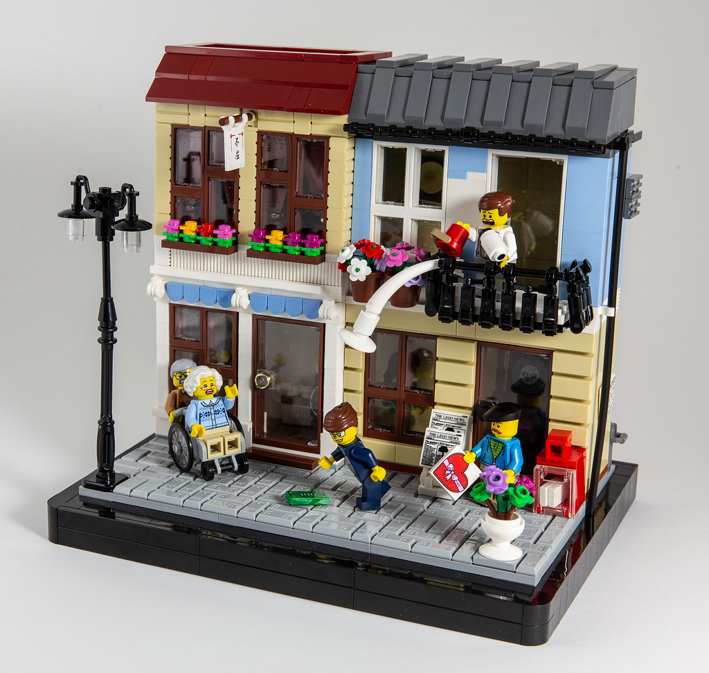 Your lucky day… (custom built Lego model)