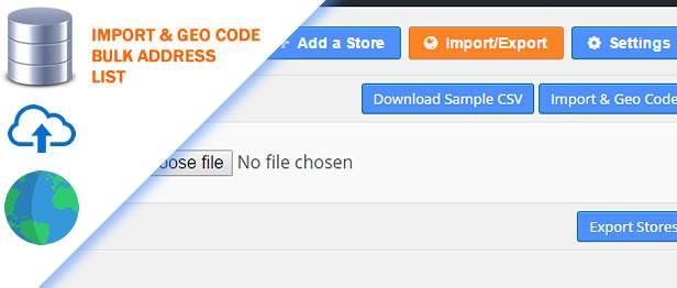 Bulk Import and GeoCode using CSV File in Super Store Finder for WordPress