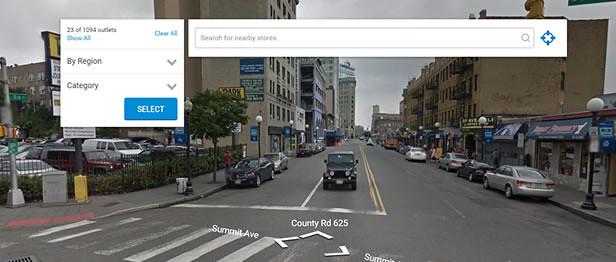 Google Street View in Super Store Finder for WordPress