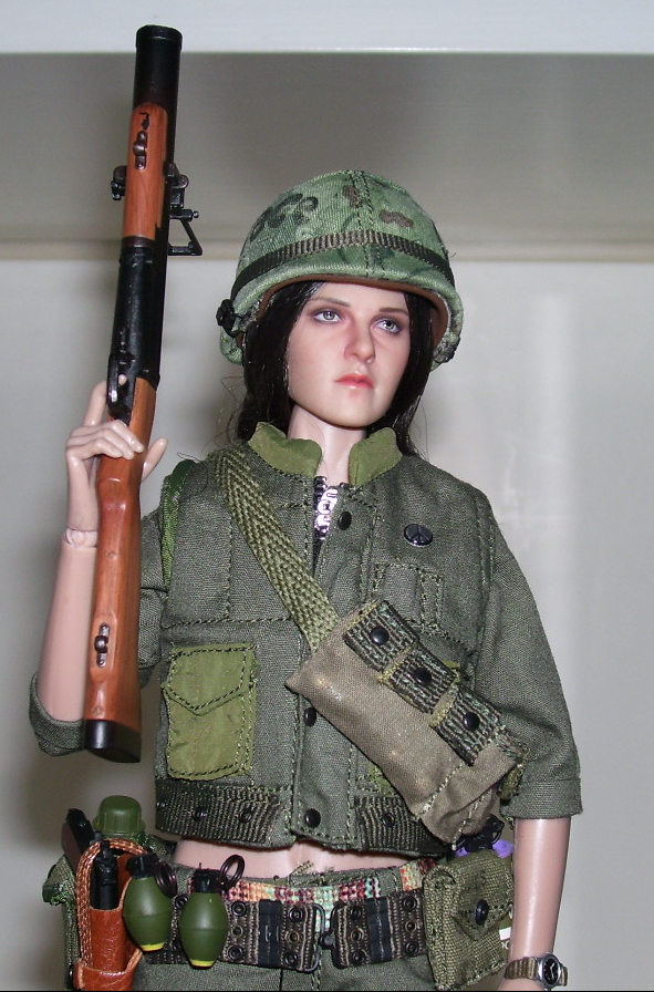 "NEW PRODUCT: ACE: Playgirl Series 13034 U.S. Vietnam War ""Peace Company"" 48145432816_2b3543c5b9_o"