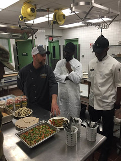 JBLM Soldiers Reviewing Products WChef Chris