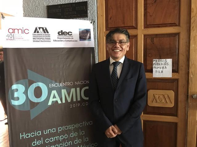Facultad de Comunicación participa en encuentro de la AMIC