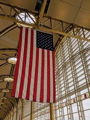Flag at National Airport
