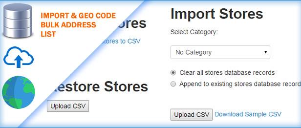 Bulk GeoCoding using CSV for your Store Locator