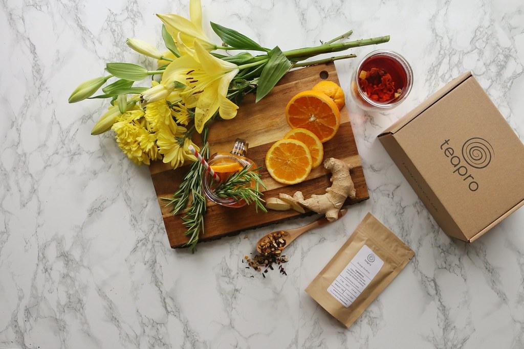 Orange Sunshine Fruit Tisane recipe by Teapro