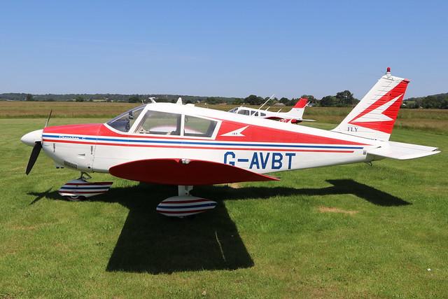 G-AVBT  -  Piper Pa28 Cherokee 180  -  Private  -  EGBO 27-6-19