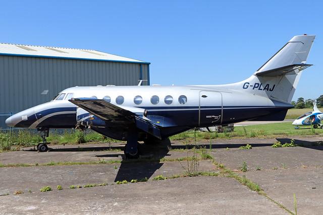 G-PLAJ  -  British Aerospace Jetstream 31  -  Jetstream Executive Travel  -  EGBO 27-6-19