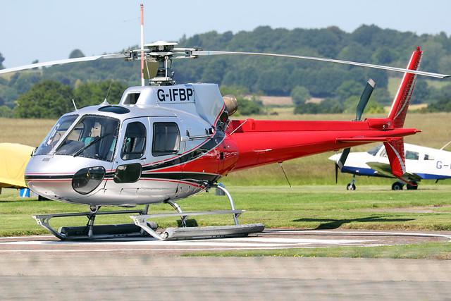 G-IFBP  -  Eurocopter AS350B2  -  Private  -  EGBO 27-6-19