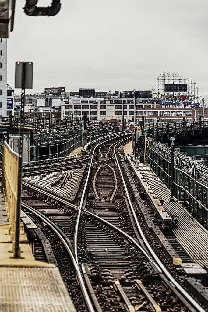 Elevated Tracks--Queens