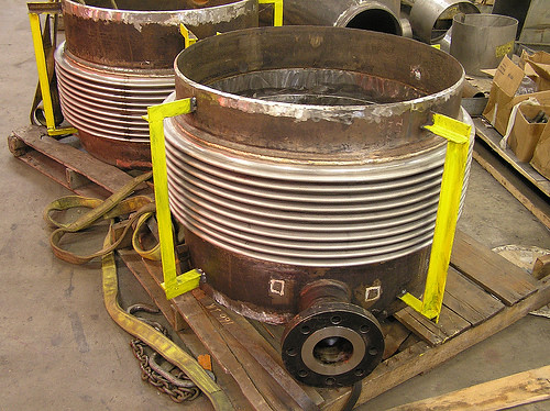 U.S. Bellows, Inc. Fabricated and Designed 5 Expansion Joints for a Heat Exchanger Company in Japan