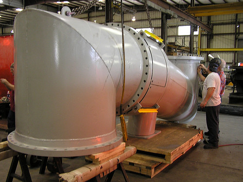 U.S. Bellows, Inc. Designed and Fabricated a Single Expansion Joint Assembly for an Oil Refinery in South Africa