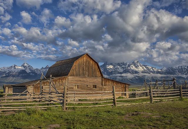 John Moulton Barn - Grand Teton National Park 7I4A4084