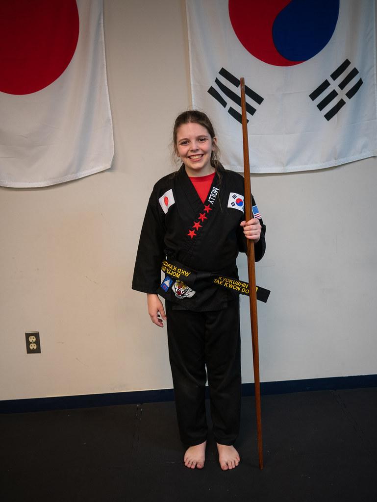 Black belt Molly
