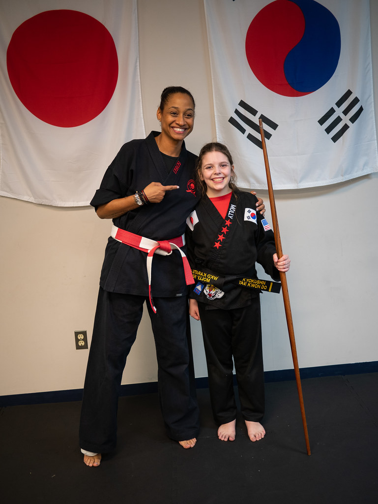 Black belt and Sensei